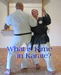 What Kime in Karate?